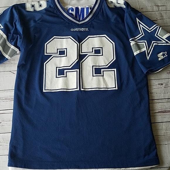 info for f23dd 65b7d Vintage E. Smith Dallas Cowboys Reversible Jersey